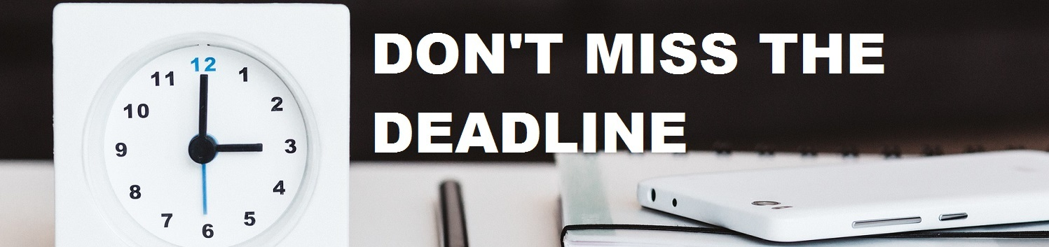 MTD sign-up deadlines