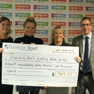 Viking FM's Cash For Kids beneficiary of directors donations