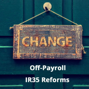 Off-Payroll (IR35) private sector reforms – Will it affect you?